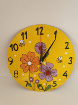 Uhr Blumen