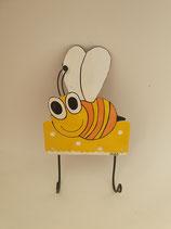 Haken Biene mit zwei Aufhängern