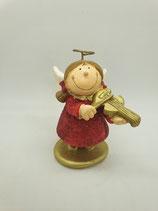 Engel klein rot mit Geige