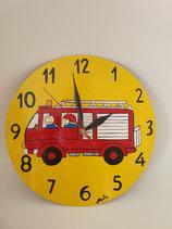 Uhr Feuerwehrauto