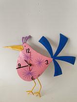Uhr Vogel rosé