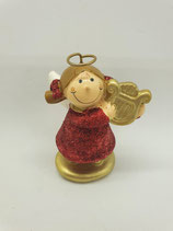 Engel klein rot mit kleiner Harve