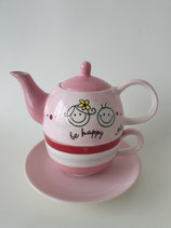Tea for One Be Happy rosa