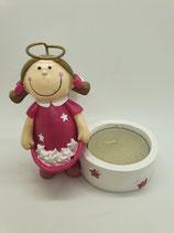 Engel klein pink Sterntaler mit Teelicht