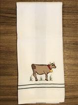 431 Kuh Pique Geschirrtuch