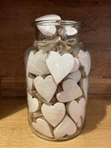 Herz Holz/Porzellan