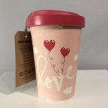 """Kaffeebecher """"Love"""""""