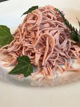 Wurstsalat geschnitten