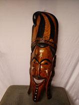 Maske, handgeschnitzt, Höhe: 78 cm (in der Tat, groß!)