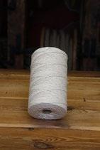 Baumwollfaden naturfarben, 1 kg, einfach grdreht