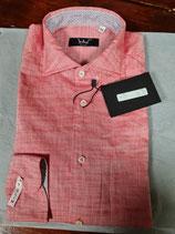 Camicia uomo cotone 100% slim