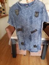 Style 3261 Blue Destoyed