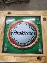 Dominotisch Presidente Bier