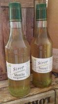 Lot de 2 bouteilles de Sirop : Menthe et Fenouil