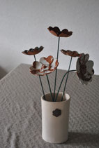 fleurs céramiques