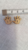 Knopf 1 Paar Babyhände