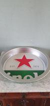 Heineken bier dienblad rode ster