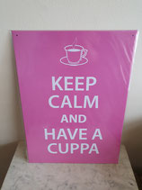 Wandbord Keep calm
