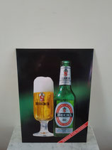 Becks bier reclame display