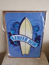 Wandbord Surf dude