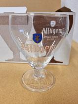 Affligem bier glazen in doos