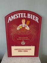 Amstel bier reclamebord / kalender