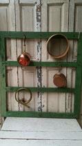 Oud Frans keuken rek groen