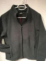 dicke Fleece-Jacke UNISEX grau / XS