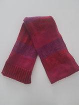 Echarpe tricot rouge dégradé chiné bébé Mexx