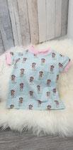 Tunika/Longshirt mint/rosa Mädchen