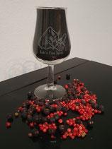 "Tasting Glas mit Logo ""Kuki´s Fine Spirit"""