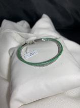 Armband Grün mit Silber