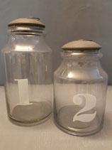 Glas 1+2   Metalldeckel