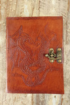 Leder Drachen Notizbuch AW-060819.03