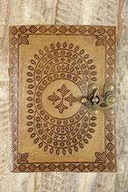 Leder Mandala Notizbuch AW-060819.01 b