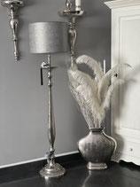 Colmore Stehlampe Alu Raw Ni 31 x 31 x 138cm ohne Schirm