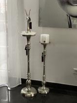 Colmore Kerzenständer Alu RAW Ni 2 Größen