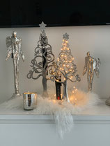 Colmore dekorativer Baum /Weihnachtsbaum Alu /Raw/ Ni 2 Größen