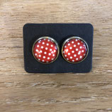 Dots Glass Studs