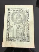 Nidwaldner Kalender 1955 (antiquarisch)