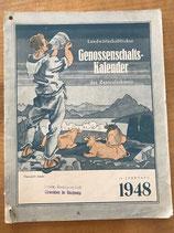 Landwirtschaftlicher Genossenschaftskalender 1948 (antiquarisch)