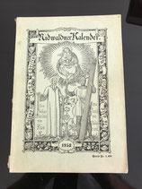 Nidwaldner Kalender 1958 (antiquarisch)