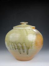 stout wood-fired jar