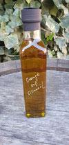 Orange auf Olivenöl