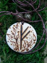 Runen-Amulett Fehu