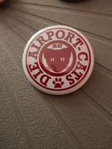 Button AC Logo rot 37mm