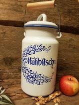 Milchkanne 2l emailliert