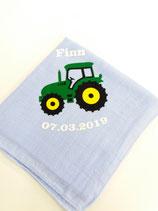 Noschi hellblau Traktor