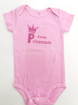 Body kleine Prinzessin rosa Grösse 86/92