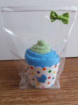 Cup Cakes lindgrün/blau